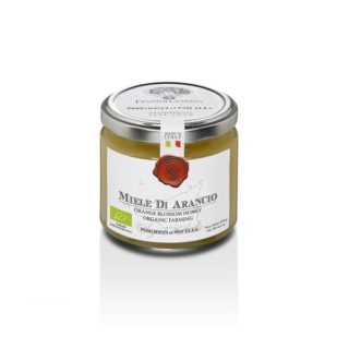 <b>ORGANIC</b> ORANGE BLOSSOM HONEY