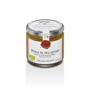 <b>ORGANIC</b> MULTI-FLOWER HONEY