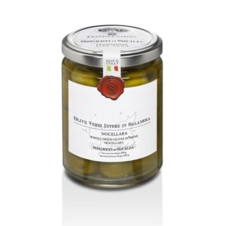 GREEN OLIVES NOCELLARA DEL BELICE IN BRINE (WHOLE)