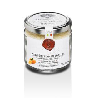 SICILIAN SEA SALT FLAVORED WITH ORANGE