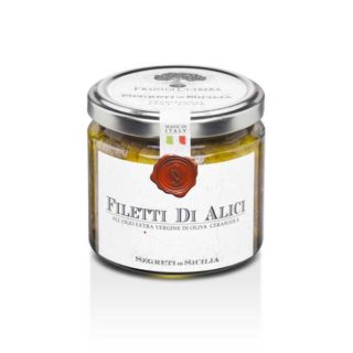 ANCHOVIES FILLETS IN EXTRA VIRGIN OLIVE OIL (CERASUOLA)