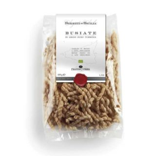 "<b>ORGANIC</b> WHOLE GRAIN DURUM WHEAT FLOUR ""TUMMINIA"" PASTA FORMAT BUSIATE"