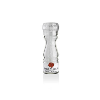 SICILIAN NATURAL COARSE SEA SALT, GRINDER DISPENSER