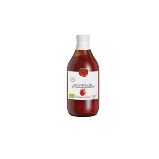 READY CHERRY TOMATOES SAUCE <b>ORGANIC</b>, GLASS BOTTLE 660 GR